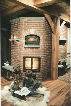 International Order of Runeberg member''s Finnish masonry heater